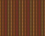 Autumn Palette - Beaded Stripe Brown from Patrick Lose Fabrics