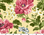 Poppies - Poppies Soft Yellow by Rachel Shelburne from Maywood Studio