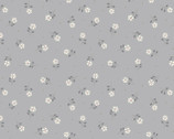 Flo's Little Flowers - Tiny Flower Grey from Lewis and Irene