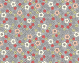 Flo's Little Flowers - Ditzy Grey from Lewis and Irene