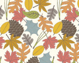 Camp Sur 3 - Leaves by Jay-Cyn Designs from Birch Fabrics