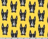 Woof - Dog Buttercup Yellow by Bouffants and Broken Hearts from Robert Kaufman
