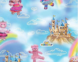 Build A Bear Princess Castles and Rainbows from Quilting Treasures