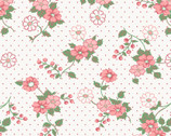 Berries & Blossoms - Trailing Flowers Pink by A Kim's Cause from Maywood Studio