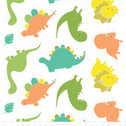 You Are Dino-Mite - Dino Push Cut Outs White from Camelot