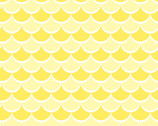 Dreamtime Nursery FLANNEL - Scallops Yellow from David Textiles