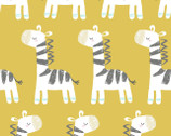 Safari Pals - Giraffe Yellow from Fabric Editions