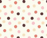 Mod Basics 3 - Pop Dots Girl Pink from Birch Fabrics