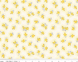 Lily - Floral Yellow by Sue Penn from Riley Blake