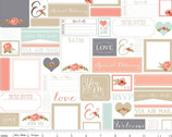 Rustic Elegance - Postcards White by Carta Bella from Riley Blake