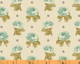 Aubrey - Floral Rose Cream by Whistler Studios from Windham Fabrics
