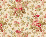 Aubrey - Floral Bouquet Cream by Whistler Studios from Windham Fabrics