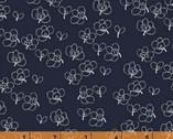 Lilla - Rue Floral Indigo by Lotta Jansdotter from Windham Fabrics