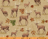 Forest - Deer Tan by Whistler Studios from Windham Fabrics
