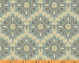 Isadora - Medallion Teal by Rosemarie Lavin from Windham Fabrics