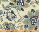 Isadora - Jacobean Floral Cream by Rosemarie Lavin from Windham Fabrics