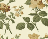 Evelyn - Main Floral Cream by Whistler Studios from Windham Fabrics