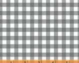 Maribel - Check Grey by Annabel Wrigley from Windham Fabrics