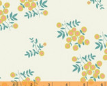 Maribel - Dot Floral Cream by Annabel Wrigley from Windham Fabrics