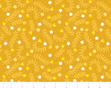 Bright Side - Sprigs Golden Yellow by Alisse Courter from Camelot Fabrics