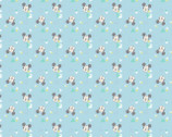 Mickey and Minnie Mouse - Mickey Mouse Baby Blue Triangles from Springs Creative