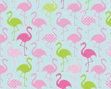 Flamingo Party KNIT from Springs Creative