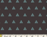 Etno - Contempo Pyramids Ebony by Pat Bravo from Art Gallery Fabrics