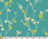 Rapture - Butterfly Bliss Teal by Pat Bravo from Art Gallery Fabrics