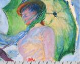 Claude Monet - Sky Woman Panel from Robert Kaufman