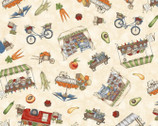 From the Farm - Market Scene Natural by Kris Lammers from Maywood Studio