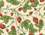 From the Farm - Fresh Strawberries Natural by Kris Lammers from Maywood Studio