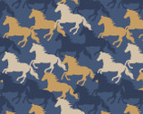Farley Mount - Gallop Dark Blue from Lewis and Irene