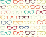 Summer '62 - Glasses by Jay-Cyn Designs from Birch Organic Fabric