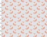 Little Forest - Fox Gray from 3 Wishes Fabric