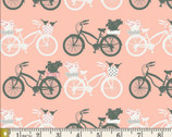 Printemps Fusion - Fietsen Bikes from Art Gallery Fabrics