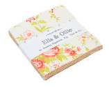 Ella and Ollie Charm Pack - 42 Five Inch Squares by Fig Tree from Moda