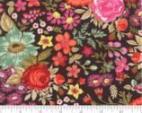 Meraki - Nefertari Wren Brown Florals by BasicGrey from Moda
