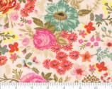 Meraki - Nefertari Marzipan PInk Florals by BasicGrey from Moda