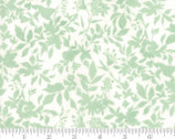 Meraki - Shaka Marzipan Feldspar Floral Leaf Lt Green by BasicGrey from Moda