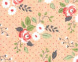 Nest - Florals Full Bloom Peach Blush by Leila Boutique from Moda