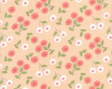 Nest - Floral Classic Blossom Peach by Leila Boutique from Moda
