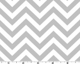 Bro.ther Sis.ter - Chevron Zig Zag Gray by Ellen Crimi-Trent from Clothworks