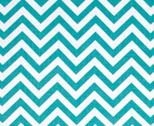 Bro.ther Sis.ter - Chevron Zig Zag Teal by Ellen Crimi-Trent from Clothworks