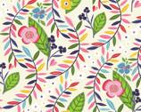 Helen's Meadow - Vine Floral by Helen Dardik from Clothworks