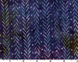Java Batiks - Slash Dots Dark Blue from Maywood Studio