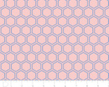 Rose Quartz and Serenity - Hex Pink by JACK!E from Camelot Cottons