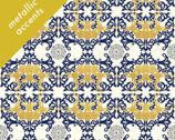 Mod Nouveau Poplin - Horned Lace by Jay-Cyn Designs from Birch Fabrics