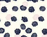 Mod Nouveau Poplin - Roses Blush by Jay-Cyn Designs from Birch Fabrics
