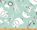 Wild About You - Animal Toss by Sophia Santander from Windham Fabrics