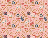 Chieveley Metallic - Country House Floral Pink from Lewis and Irene